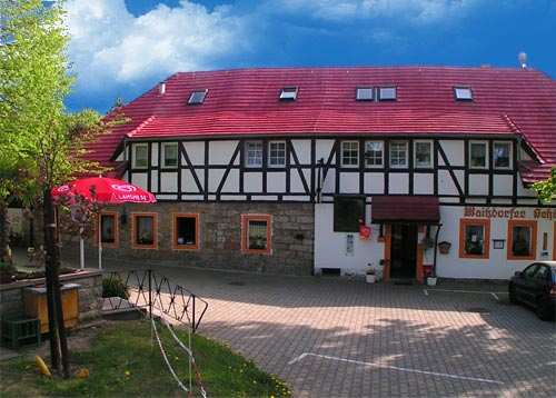 Pension und Gaststätte Waitzdorfer Schänke in der Sächsischen Schweiz